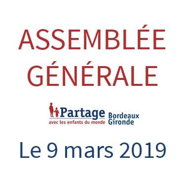 Assemblée générale Partage Bordeaux