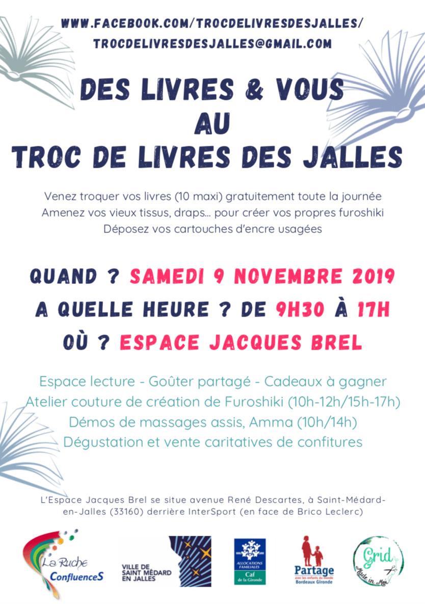 Tissus St Medard En Jalles troc troc troc et goûter !